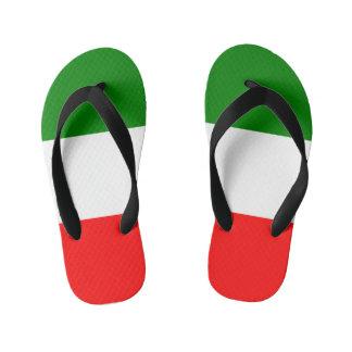 Italy Italian Italia Flag Tricolore Design Kid's Flip Flops