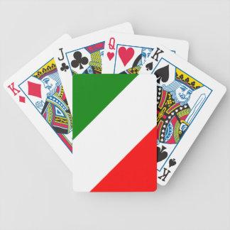Italy Italian Italia Flag Tricolore Design Poker Deck