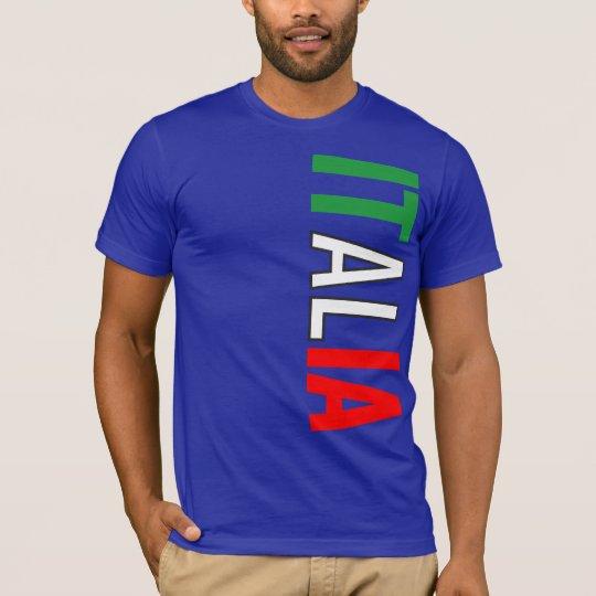Italy Italian Italia Flag Tricolore Design T-Shirt