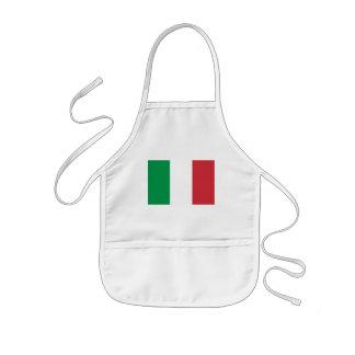 italy kids apron