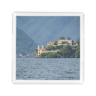 Italy, Lake Como Serving Tray