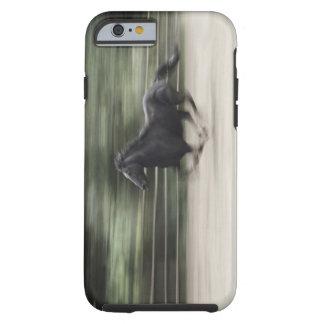 Italy, Latium, Maremma horse galloping (blurred Tough iPhone 6 Case
