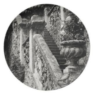 Italy, Lecco Province, Varenna. Villa Monastero, 3 Plate