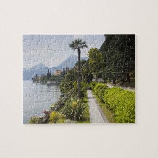 Italy, Lecco Province, Varenna. Villa Monastero, Jigsaw Puzzle