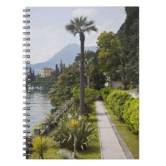 Italy, Lecco Province, Varenna. Villa Monastero, Notebook