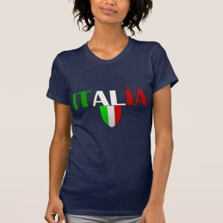 Italy logo flag of Italy shield for Italians T-Shirt