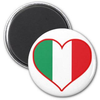 Italy Love 6 Cm Round Magnet