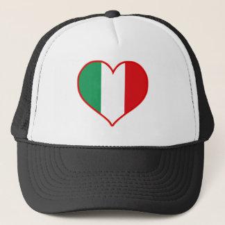 Italy Love Trucker Hat