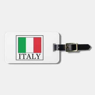 Italy Luggage Tag