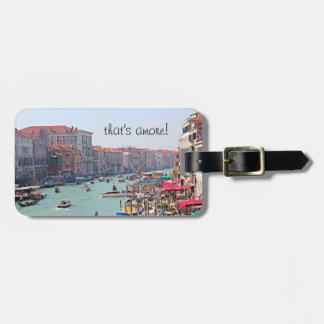 Italy Luggage Tag - Venice