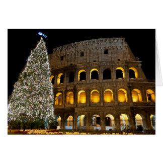 Italy Magazine Christmas Card - Colosseum