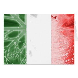 Italy Magazine Christmas Card - Flag
