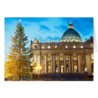 Italy Magazine Christmas Card - Vatican