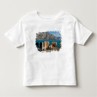 Italy, Malcesine, view from castle tower of Toddler T-Shirt