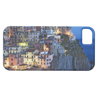 Italy, Manarola. Dusk falls on a hillside town Case For The iPhone 5