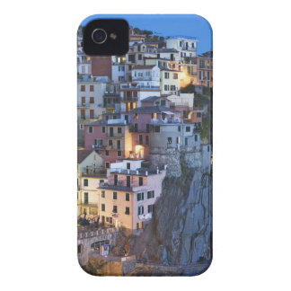 Italy, Manarola. Dusk falls on a hillside town iPhone 4 Case