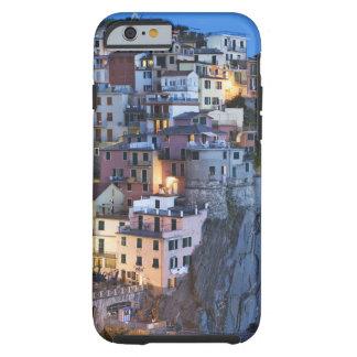Italy, Manarola. Dusk falls on a hillside town Tough iPhone 6 Case