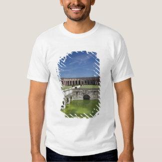 Italy, Mantua Province, Mantua. Courtyard, Tee Shirts