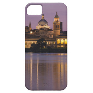 Italy, Mantua Province, Mantua. Town view and 2 iPhone 5 Covers