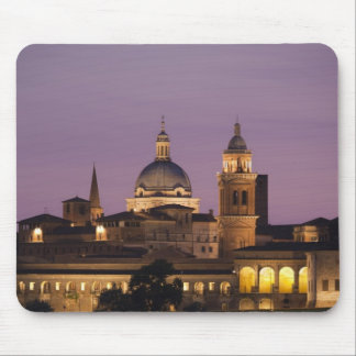 Italy, Mantua Province, Mantua. Town view and 2 Mouse Mat