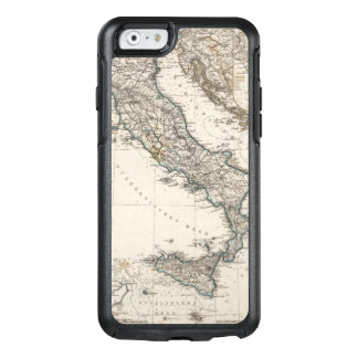 Italy Map by Stieler OtterBox iPhone 6/6s Case