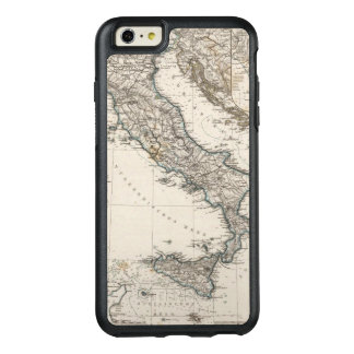 Italy Map by Stieler OtterBox iPhone 6/6s Plus Case