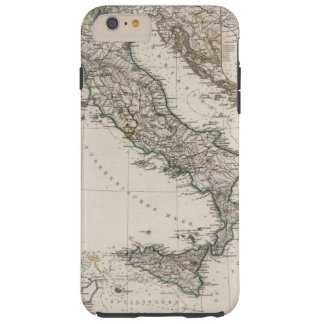Italy Map by Stieler Tough iPhone 6 Plus Case