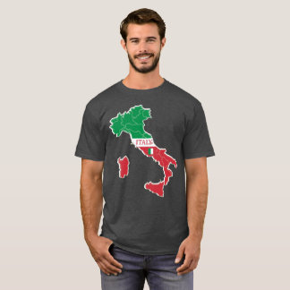Italy Map Classic Shirt Apparel Sale; Man or Lady