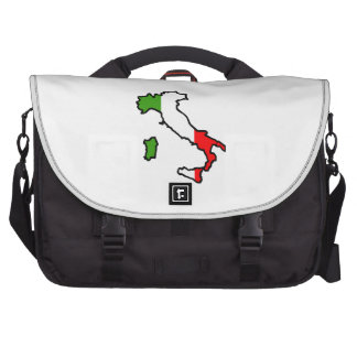 ITALY MAP FLAG BAG FOR LAPTOP