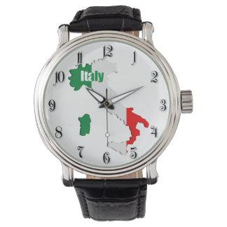 Italy map wristwatch