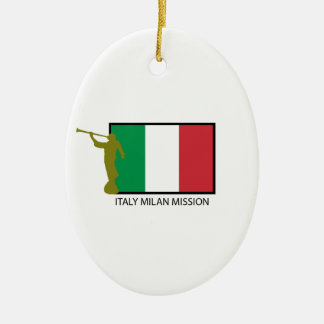 ITALY MILAN MISSION LDS CTR CHRISTMAS ORNAMENT