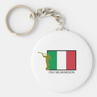 ITALY MILAN MISSION LDS CTR KEYCHAIN