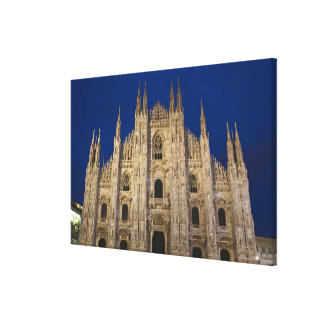 Italy, Milan Province, Milan. Milan Cathedral, Gallery Wrapped Canvas
