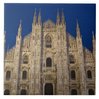 Italy, Milan Province, Milan. Milan Cathedral, Large Square Tile