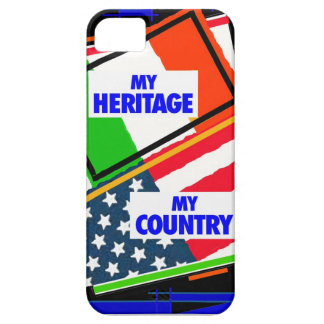 Italy,...my Heritage, USA,...my Country Case For The iPhone 5