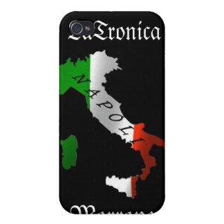 Italy Napoli (Naples) Heritage iPhone Case iPhone 4/4S Case