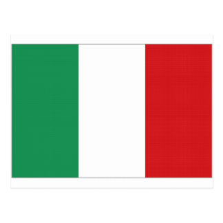 Italy National Flag Post Cards