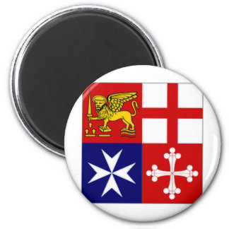 Italy Naval Jack Refrigerator Magnets