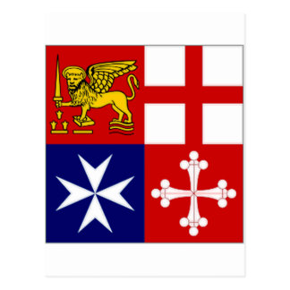 Italy Naval Jack Postcard