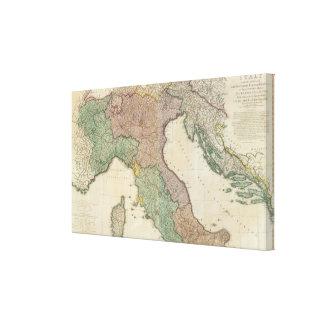 Italy North 2 Canvas Print