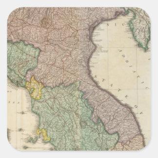Italy North 2 Square Sticker