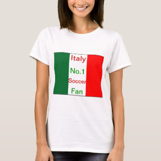 Italy number one soccer fan T-Shirt