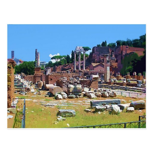 ITALY Old Forum Postcards