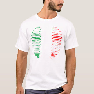 Italy on White Tee Shirt