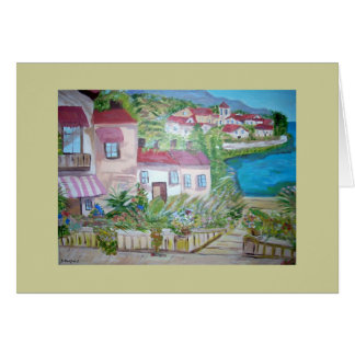 Italy Painting Images Greeting Card