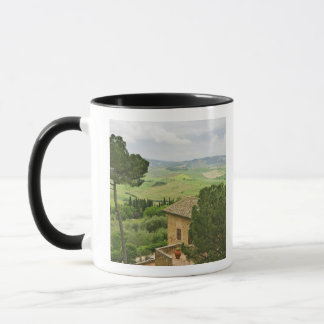 Italy, Pienza. View of the Tuscany Mug