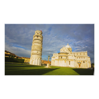 Italy, Pisa, Duomo and Leaning Tower, Pisa, 2 Photo Print
