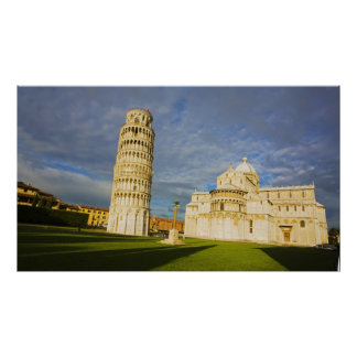 Italy, Pisa, Duomo and Leaning Tower, Pisa, 2 Poster