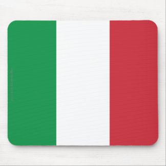 Italy Plain Flag Mouse Pad