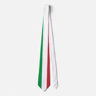 Italy Plain Flag Tie